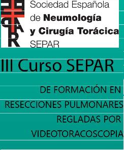 III Curso SEPAR de Formación en Resecciones Pulmonares Regladas por Videotoracoscopia